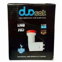Lnb Duosat Hd 2 Salidas P/tocomsat Azamerica Cinebox Maestro