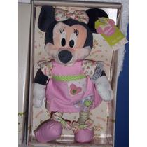 Peluche De Minni En Caja Original Disney 100 % 25 Cm