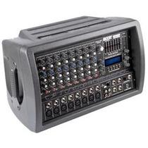 Consolas Potenciada Moon 5508 Usb 10 Canales 800w C/ Efectos