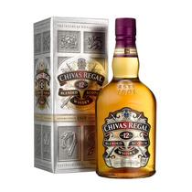 Whisky Chivas Regal 12 Años Con Estuche De Litro Escoces