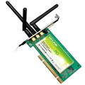 Placa De Red Wifi Pci Tp-link Tl-wn951n 300 Mbps 3 Antenas
