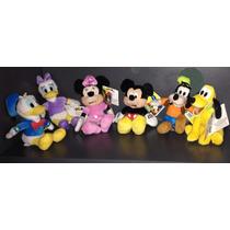 Personajes Disney De 12 Cm En Peluche Licencia Original