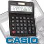Calculadora Escritorio Casio Dz-12s 12 Dígitos Solar+pila