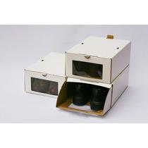 Caja Zapatos Organizadora (talle 40-46) Pack 12 Unidades