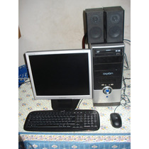 Computadora Core 2duo E7300 Con Monitor Lcd 17 Samsung Excel