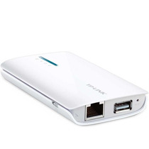 Router Wifi Portátil Tp-link Tl-mr3040 3g Usb - Recargable
