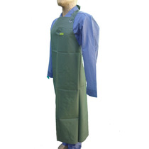 Delantal De Pvc C/refuerzo Verde O Azul Pampero Limpieza