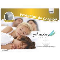 Protector De Colchon Matelaseado Ajustable Todas Las Medidas