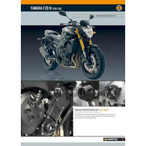 Slider De Carenado Y Protectormotor Kraftec Yamaha Fz8 Fz1