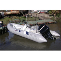 Semi 5,5 Mts Matrizado Con Mercury 60 Hp 4t Full Ecologico
