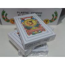 Mazo 50 Naipes Cartas Plastificadas Españolas Comodines