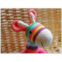 Jirafa A Crochet - Elida A Tejer