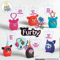 Coleccion Completa Furby (mc. Donalds 2014)