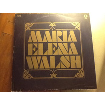 Vinilo Maria Elena Walsh 1982 Impecable
