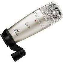 Micrófono Condenser Behringer C1 Cardioide Con Estuche
