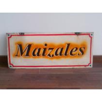 Cartel De Chapa Vintage Doblefaz