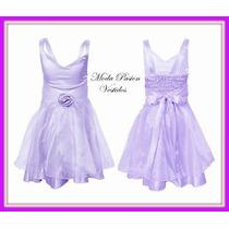 Vestido Organza Nena Cortejo,bautismo,comunion Moda Pasion