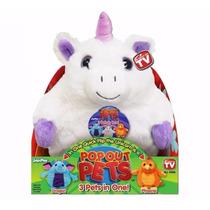 Pop Out Pets Peluches 3 En 1 Cuentos Jugueteria Bunny Toys