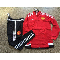 Conjunto Buzo Y Pantalon Manchester United 2016