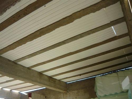 Ladrillo telgopor de techo c viguetas for Losa techo