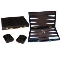 Backgammon Atache Grande Cuero Ecologico Cocodrilo
