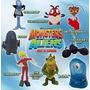 Coleccion Completa Monstruos Vs. Aliens (mc. Donalds 2009)