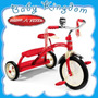 Triciclo Vintage Retro Radio Flyer Ruedas Grandes. Exclusivo