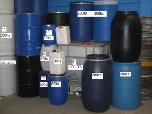 Tambor bidon bidones plasticos30 60 100 120 150 200 1000 for Bidon 30 litros cierre ballesta