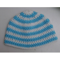 Gorro Argentina Mundial Tejido Crochet Niño Adulto Personaje