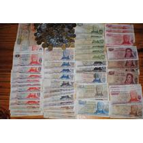 60 Billetes Y 160 Monedas Argentinas Envio Gratis Exc.lote