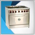 Cocina Morelli 90 Cm Tapa Ciega Pta Acero Rejas De Fundicion