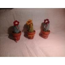 Souvenirs Crochet Cactus Amiguru Feng Shui Cristal Encantado