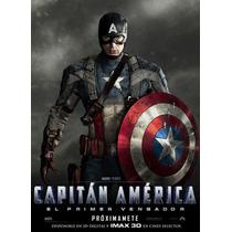 Capitan America, Laminas En Bastidor, Dia Del Niño !!