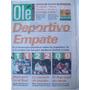 Diario Ole 12/9/1996 Olimpia Venado Tuerto/ Sconochini