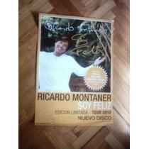 No Cd Dvd Ricardo Montaner Poster Promo Inconseguible !!!!