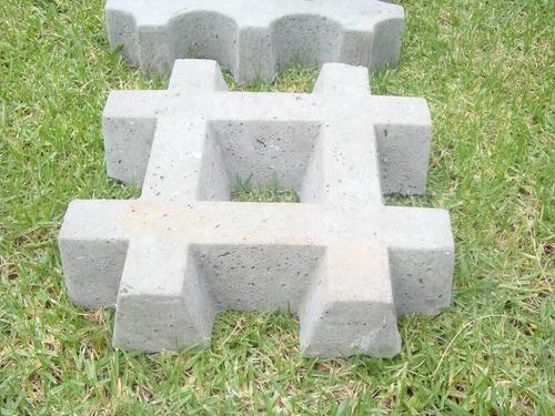 bloques para cesped grilla verde garden block xx