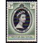 Tristan Da Cunha 1 Sello Mint De La Reina Elizabeth I I