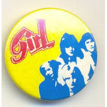 Girl - Glam Rock - Pin