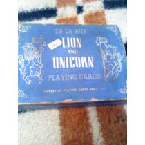 Antiguo Juego De Naipes De Origen Ingles En Su Caja Original