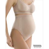 Trusa Maternal Embarazo Sosten Faja Abdominal  Sin Costuras