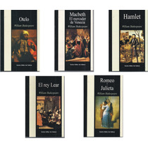 Lote X 5 Libros William Shakespeare - Nuevos - Hamlet