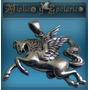 Medalla Plata Caballo Pegasus Hermosa 3 X 3.5 Cm