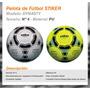 Pelota Futbol Striker Dynasty N°4 Cuero Cosida