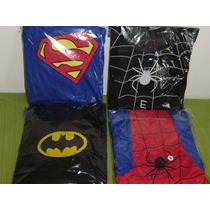 Disfraz Batman, Hombre Araña Negro,hombre Araña Rojo,supeman