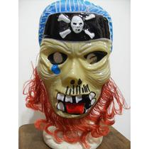 Mascara Careta Pirata De Plastico
