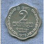 Sri Lanka 2 Cents 1978 * Republica Socialista * Ondulada *