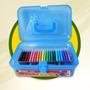 Valija Escolar Simball Crayones-marcadores-acuarelas-