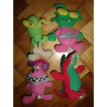 Monstruos Aliens Dinosaurio Muñecos Peluches De Mc Donald