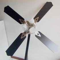 Ventilador De Techo 10 Años Garantia + Spot Plafon 3 Luces
