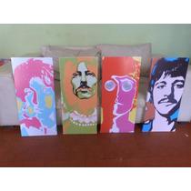 Cuadros Cuadruple The Beatles ( La Plata )